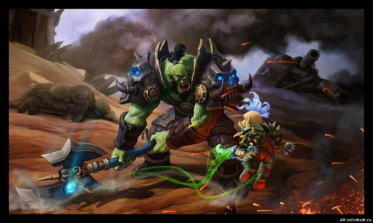 World of warcraft cataclysm orc speach exploited pic