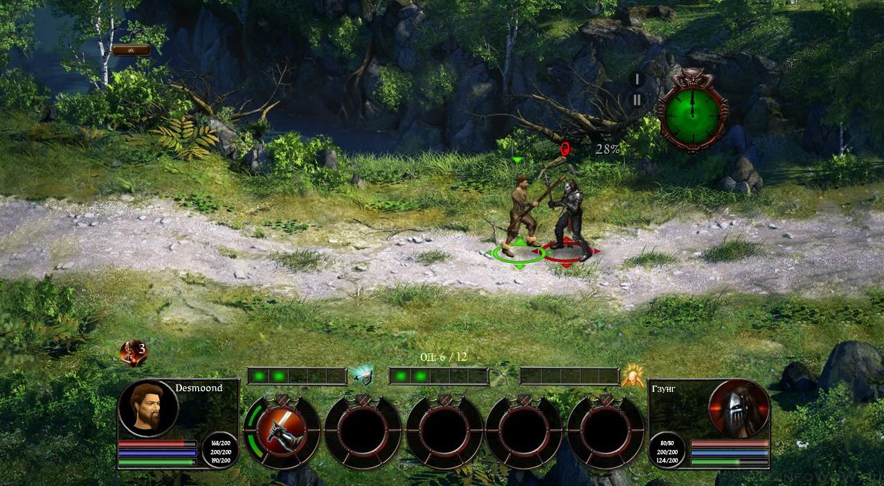 Taern браузерная MMORPG