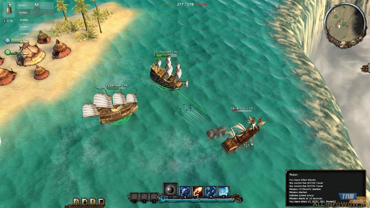 Pirate Storm лучшая mmo