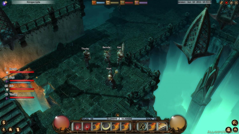 Играть в Drakensang Online