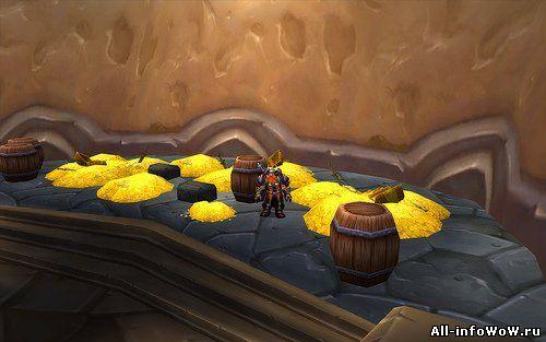 Фарм золота