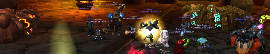 Убийство защитной системы Омнотрон гильдией Ensidia