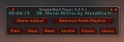 SimpleMp3 Player