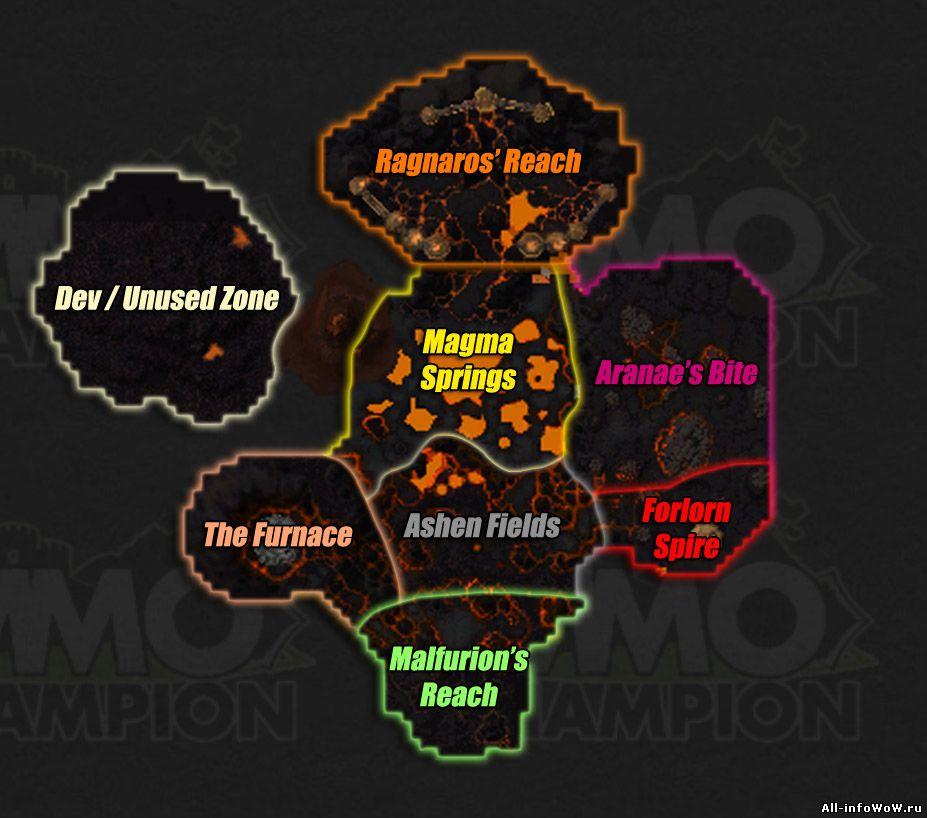 Карта Огненные просторы