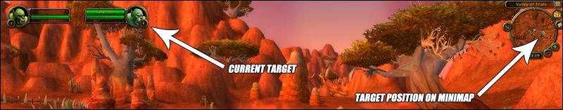 Патч 4.1: Отображение цели на миникарте