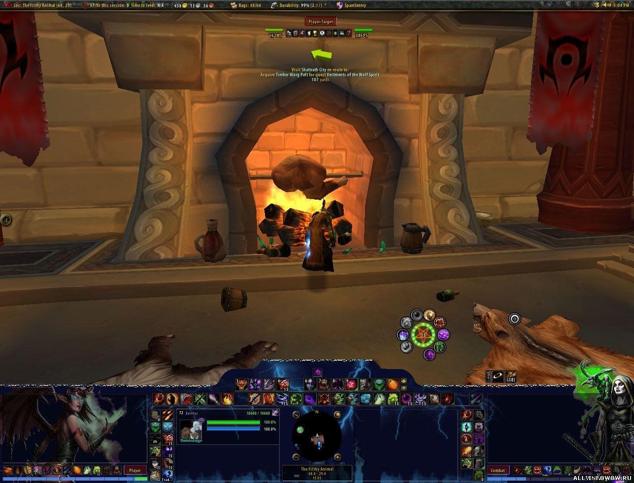 nUI for Warlock