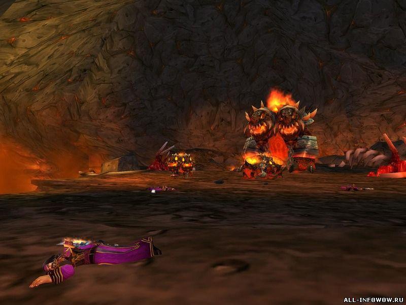 Пещеры черной горы - лут - WoW: Cataclysm