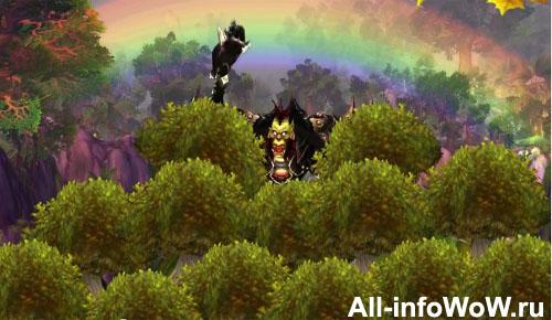 ненависть к радуге и деревьям