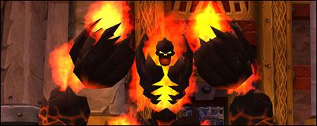 Огненный голем Abyssal