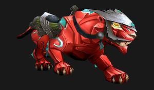 Красная пантера