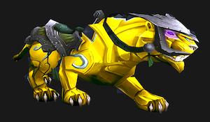 Желтая пантера