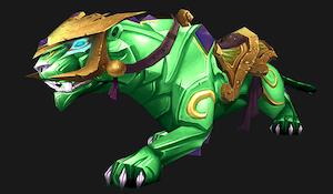 Зеленая пантера