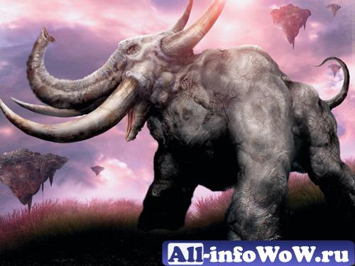 WoW мамонт