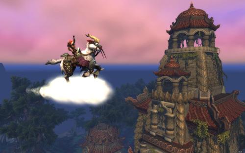 Новое верховое животное: ветряной скакун