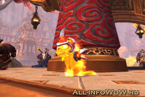 Огненный котенок WoW