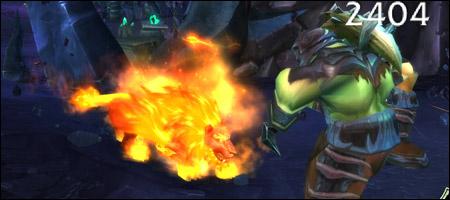 Действие огненной формы кошки у друидов