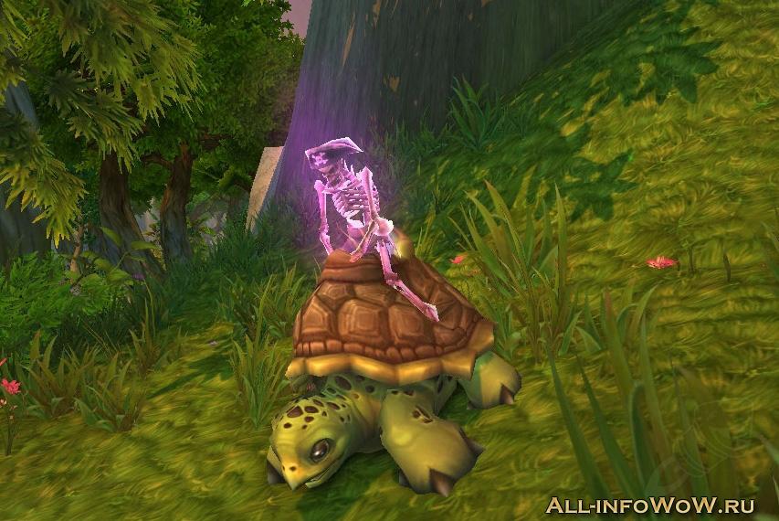 Черепаха-скелет
