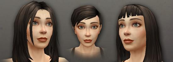 Обновленные модели людей-женщин