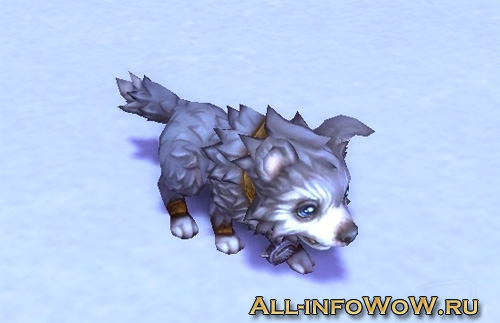 Щенок ледяного волка