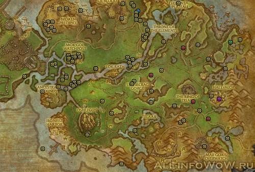 Карта рарников Награнд