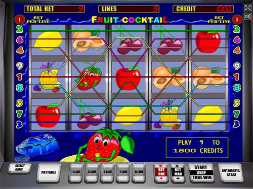 Игровой автомат Fruit Cocktail