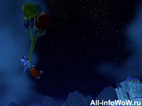 Воздушные шары WoW
