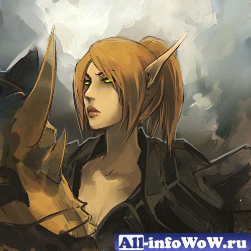Леди Лиадрин: повелительница рыцарей крови